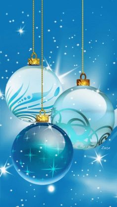 Merry Christmas & Happy New Year ! Merry Christmas & Happy New Year ! Merry Christmas And Happy New Year, Blue Christmas, Christmas Balls, Christmas Greetings, Winter Christmas, Christmas Ornaments, Merry Christmas Gif, Christmas Scenes, Christmas Pictures