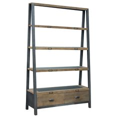 Baker - Tapered 2 Drawer Rack | Bookcases | Dining Room