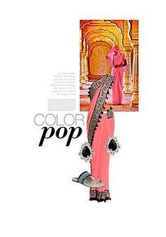Exclusive Look by monalisa Fabric Flip Flops, Silver Earrings Online, Gold Earrings, Ethenic Wear, Indian Look, Silk Sarees Online, Antara, Pink Fabric