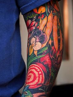SEAN BROCK- One of my favorite chefs and one of my favorite tattoos.