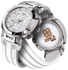 8fca27c05de What 8 of the Highest Paid Women Athletes Wear on Their Wrists - Tissot  T-Race Danica Patrick 2014 watch