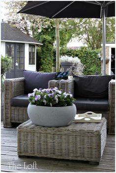 Wicker Patio Furniture - Wicker Home Furniture Outdoor Lounge, Outdoor Life, Outdoor Rooms, Outdoor Gardens, Outdoor Living, Outdoor Decor, Outdoor Seating, Outdoor Ideas, Outdoor Wicker Furniture