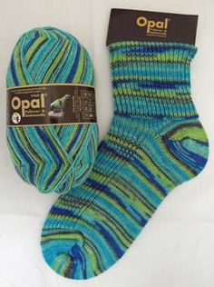 Opal 4 ply sock yarn 7472, Rainforest 9 Tome the Bard