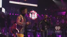 Prince and Mary J. Blige at the iHeartRadio Music Festival 2012. #iHeartRadio #Prince #MaryJBlige