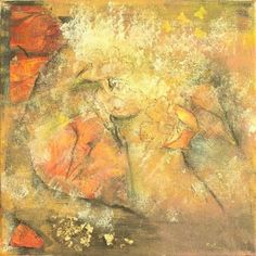 'Late Spring' by Tracey Unwin Abstract Words, Spring Art, Art Gallery, Canvas, Artist, Artwork, Painting, Tela, Art Museum