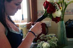 DIY Wedding Flowers  www.mikaeladanvers.com
