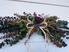 Eucalyptus Swag Floral Swag Rustic Swag Wreath by HanselCreek