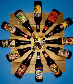 Beer Clock pallet wall art by ThirtySevenMain on Etsy…