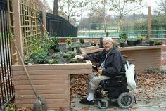 1000 images about wheelchair accessible on pinterest for Garden design ideas for disabled