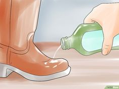 5 Ways to Stretch Boots - wikiHow How To Stretch Boots, Hunter Boots, 5 Ways, Rubber Rain Boots, Stretches, Calves, Leather, Bags, Shoes