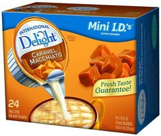 International Delight Coffeehouse Inspirations Caramel Macchiato, 24 Count Single-Serve Coffee Creamers (Pack of 6) -- See this awesome image  : Fresh Groceries