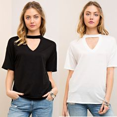 Fashion Women Casual Short Sleeve Choker Tops Blouse Ladies Summer New T Shirt | Clothing, Shoes & Accessories, Women's Clothing, Tops & Blouses | eBay!