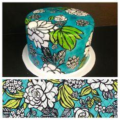 Vera Bradley cake design :)