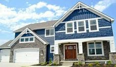 Image result for blue exterior homes