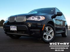 BMW X-5 shows a mean stance!  Just in at Victory Ford... uber cool!