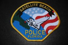 Satellite Beach Police Patch, Brevard County, Florida (Current Issue)