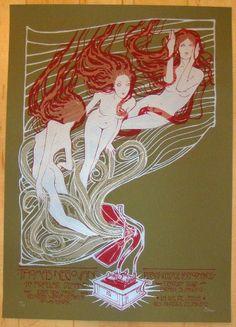 2012 Thomas Negovan - LA Silkscreen Concert Poster by Malleus