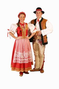 Tradicional costume from the Jurgów region Folk Costume, Costumes, Polish People, Historical Clothing, Traditional, Folklore, Birthdays, How To Wear, Germany