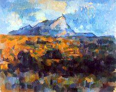La Montagne Sainte-Victoire (1904-1906) Paul Cezanne.