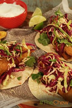 Don't miss out on making this easy Crispy Fish Tacos recipe for your next taco Tuesday!