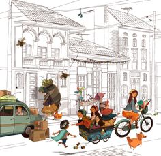 proyecto ilustración by paola escobar --> http://www.behance.net/gallery/proyecto-ilustracion/6984193