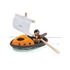 Plantoys 'Bateau de Pirates 'PlanWood' - Ekobutiks® l ma boutique écologique   Jouets de bain