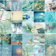 BLUE~in all it's magical shades, hues, tints, colorfulness, chroma, saturation, lightness, and brightness, is my FAV color!!! <3