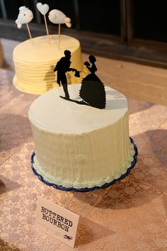 silhouette cake toppers // photo by AprylAnn.com