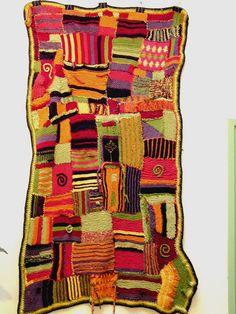 Knitted Blanket, via Alexandra Immel Design.
