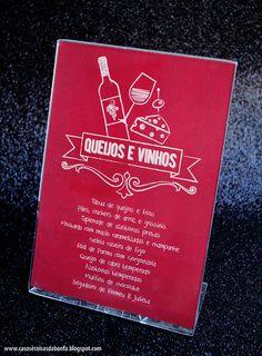 Degustação de Queijos & Vinhos de Outono | menu