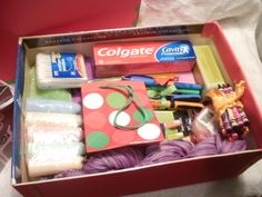 How to pack a Boy's Shoe Box for Operation Christmas Child: Ages ...