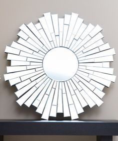 Another great find on #zulily! London Round Wall Mirror by Abbyson Living #zulilyfinds