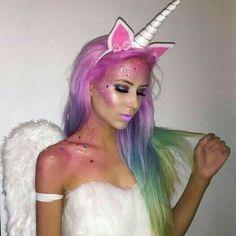 Makeup unicornio