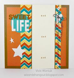 This has that western feel. I love how Dotty For You paper pack is so versatile!