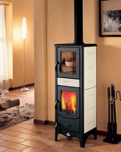 1000 images about olasz cser pk lyh k on pinterest stove tile and bordeaux - Stufe a legna con forno montegrappa ...