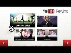 Terugblik van Youtube op 2012.