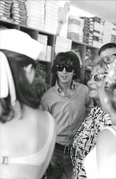 9th March 1965. George spots something interesting on a shopping trip in the Bahamas.