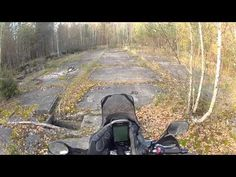 Secret abandoned russian nuclear missle base in Lithuania - YouTube