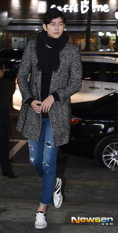 Yoon Kyun Sang at Pinocchio wrap up party