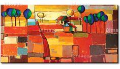 Tęczowe pola to kolorowy i radosny obraz, z nim w Twoich wnętrzach już nigdy nie zagości nuda. Zobacz inne obrazy www.bimago.pl/obrazy.html