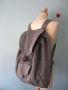 making a backpack - tutorial - holiday project