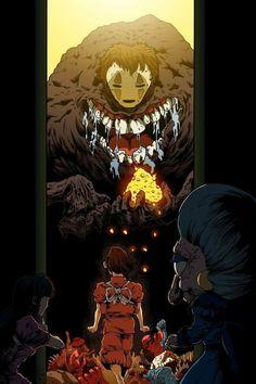 Hayao Miyazaki, Totoro, Studio Ghibli Art, Studio Ghibli Movies, Anime Disney, Chihiro Y Haku, Studio Ghibli Spirited Away, Spirited Away Art, Illustration