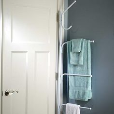 Improvements White Hinge-It® Space Saver Hanger