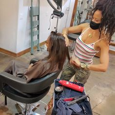 Caught in the Act #raynahairartistry #hairdresserslife