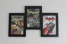 Comic book wall display 1