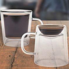 Double Shot Glass Mug #Glass, #Mug, #Shot