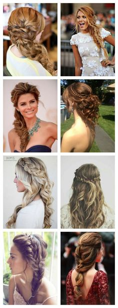 Bridesmaid Hairstyles For Any Wedding - Lace Braid Homecoming Updo Missy Sue - Beautiful Step by Step Tutorials and Ideas for Weddings. Flower Girl Hairstyles, Wedding Hairstyles For Long Hair, Formal Hairstyles, Bride Hairstyles, Cool Hairstyles, Bridesmaid Hairstyles, One Side Hairstyles, Prom Hair, Homecoming Updo