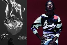 Prabal Gurung Unveils First-Ever Print Campaign for Spring 2014