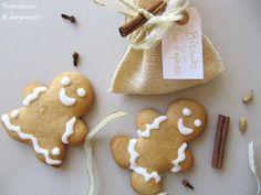 Framboises & bergamote: Biscuits au pain d'épices