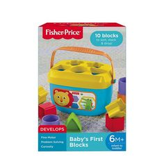 Image for BABY'S FIRST BLOCKS from Mattel
